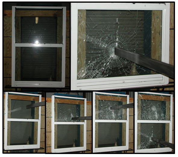 madico safety and security glass breakage demonstration quality window tinting and blinds sarasota fl